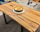 Table top, wooden top, top, made of reclaimed wood, solid wood 200 x 90 cm thickness 4 cm