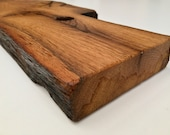 Shelf board, board for wall shelf made of reclaimed wood oak solid