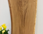 Wooden top, table top, solid oak board, oak thickness 3 cm, craftsmanship from Remagen/Rhine, NACHHALTIG