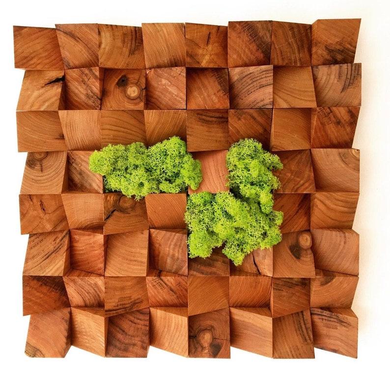 muralwood paintingmoss image 0