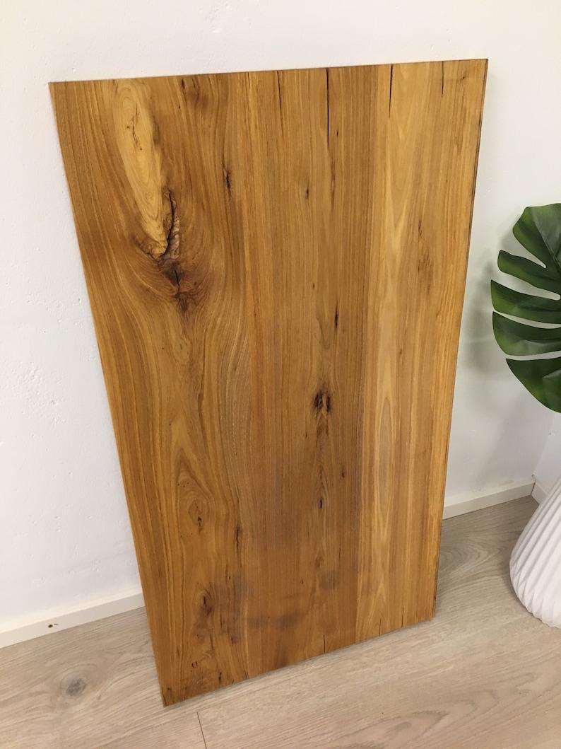 Table top wooden top washbasin top solid wood handmade image 0