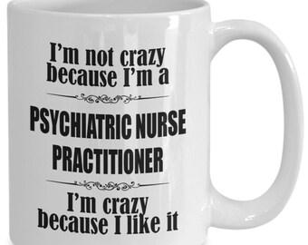 Psychiatrist mug - psychiatric nurse practitioner gift, psychiatric nurses tea/coffee mug, psychiatry cup