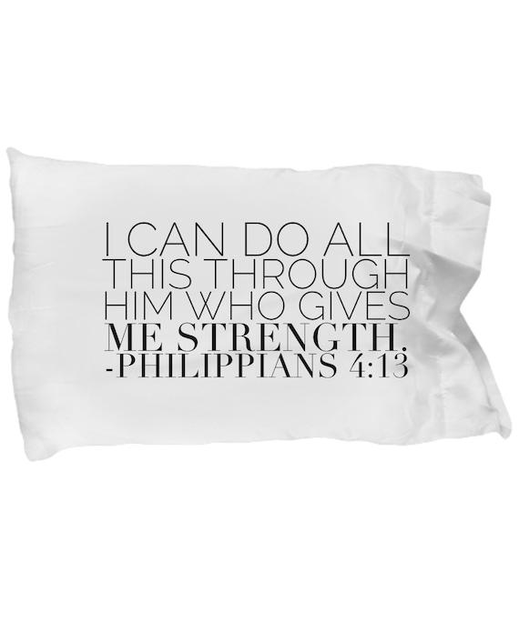 Love Bible Verse Pillow Cases