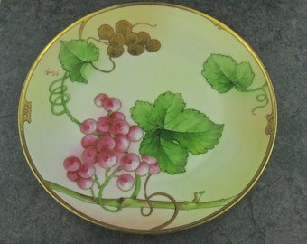 Italian Collectible Plate, Richard Ginori Plate, Vintage Italian Plate, Antique Ginori Plate, Vintage Hand Painted Plate, R Pinelli