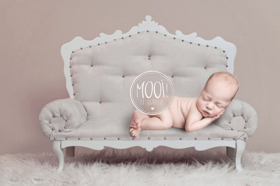 Digital prop for newborn digital background newborn photography chair chaisse longe couch furniture wood wool from mooifotografie on etsy