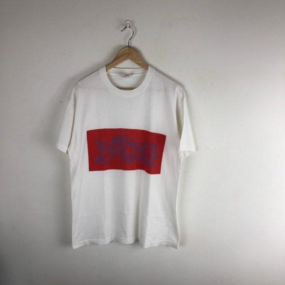 Vintage Keith Haring Shirt / Wemu 89.1fm / Pop Art