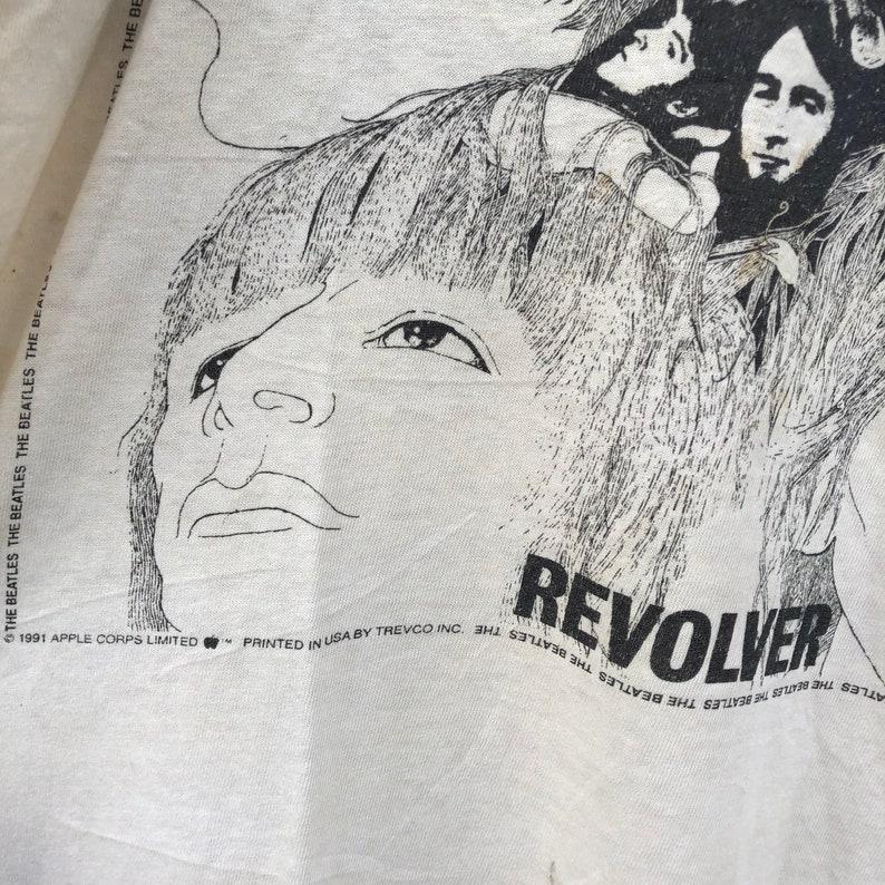 Vintage 90\u2019s The Beatles Shirt  Revolver  Band Tee