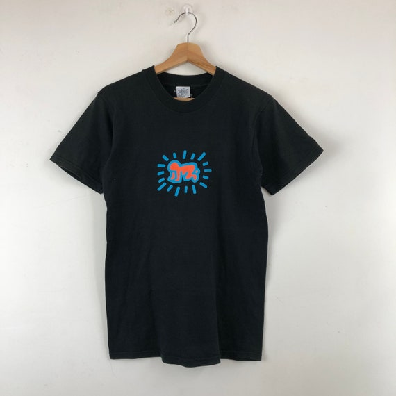 Vintage Keith Haring Shirt / Pop Art / Pop Shop /