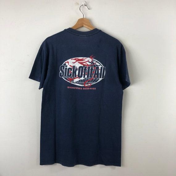 Vintage Sick Of It All Shirt / Worldwide Hardcore
