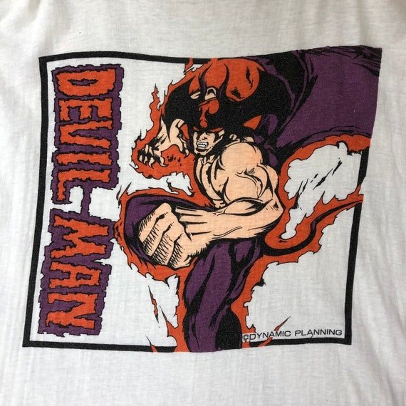 Vintage Devilman Shirt / Devil Man Shirt / Anime /