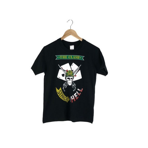The Clash Shirt / Straight To Hell / Punk Rock Shi