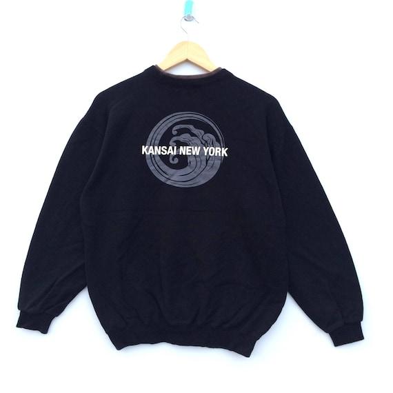 Vintage Kansai NY Sweatshirt / Kansai Dragon Jacke