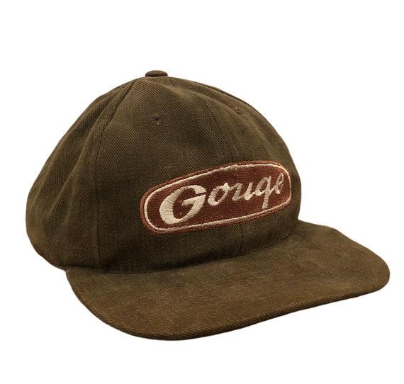 Vintage 90's Gouge Skateboards Snapback Hat / Skat