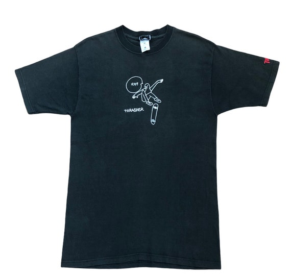 Vintage 90's Thrasher Mark Gonzales KCUF Shirt / T