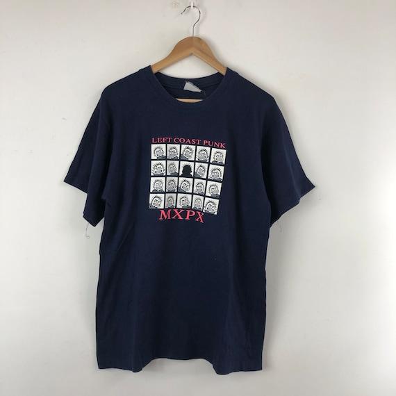 Vintage Mxpx Shirt / Left Coast Punk / Punk Rock /