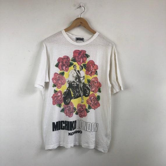 Vintage Michiko London Shirt Distressed / Rock Mot