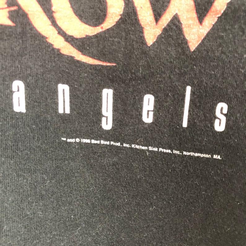 Vintage 90\u2019s The Crow Shirt  City Of Angels  Movie Tee  Brandon Lee