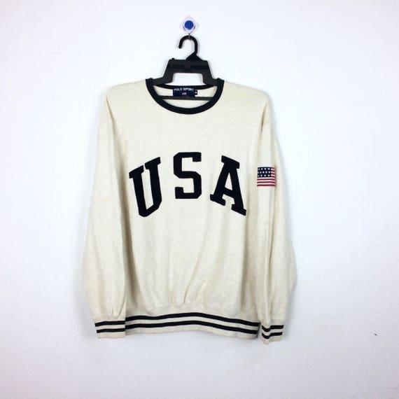 Vintage Polo USA By Ralph Lauren Sweatshirt / Polo