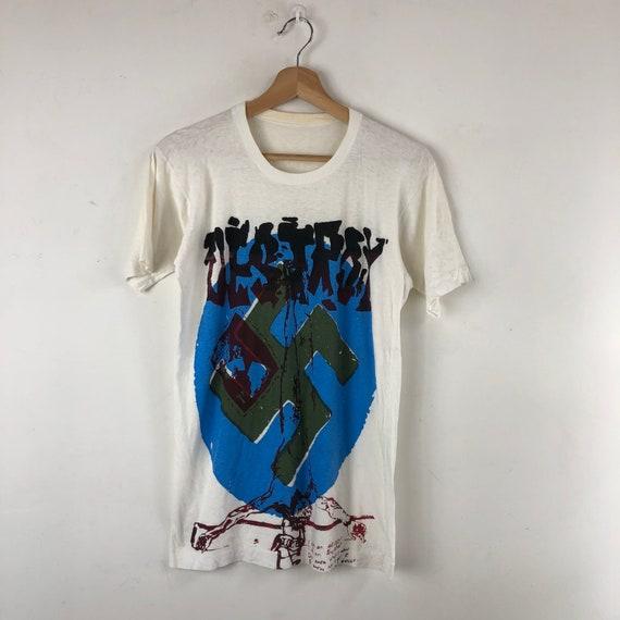 Vintage Destroy Shirt / Punk Rock / Sex Pistols /