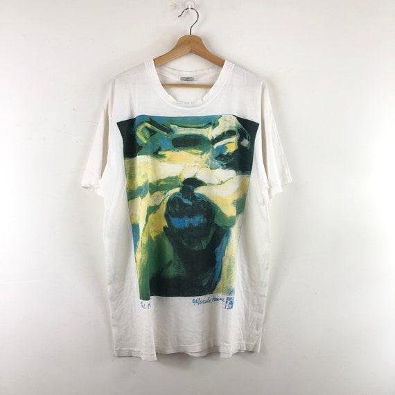 Vintage Marcelle Hanselaar Shirt / Painting Art /