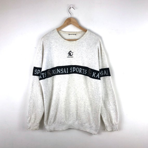 Vintage Kansai Sports Sweatshirt / Kansai Dragon … - image 1