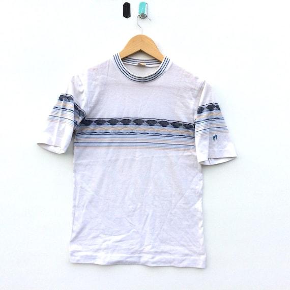 Vintage Hang Ten Striped Shirt / Hang Ten Surfing