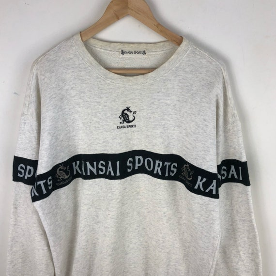 Vintage Kansai Sports Sweatshirt / Kansai Dragon … - image 2