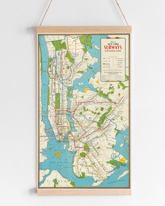 photograph regarding Printable Map of New York named Antique Refreshing York Town Map Print for Electronic Obtain. Printable Map of Fresh York Metropolis. Manhattan, Brooklyn and Central Park Map Poster.
