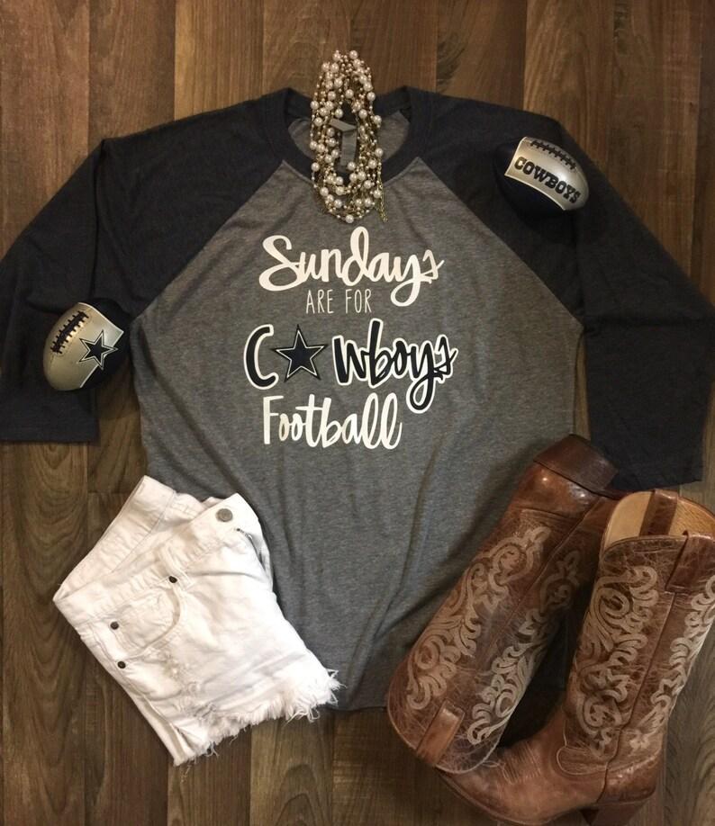 Sundays are for Cowboys Football!!- Unisex size Raglan Soft Tee!!- Dallas  Cowboy... Sundays are for Cowboys Football!!- Unisex size Raglan Soft Tee!!- efebc17d1