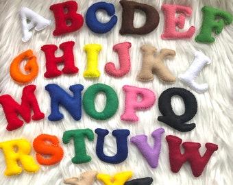 Alphabet Letters Felt Toy Handmade , Learning the English Alphabet