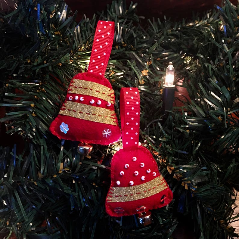 Christmas Bell Ornaments Set image 0