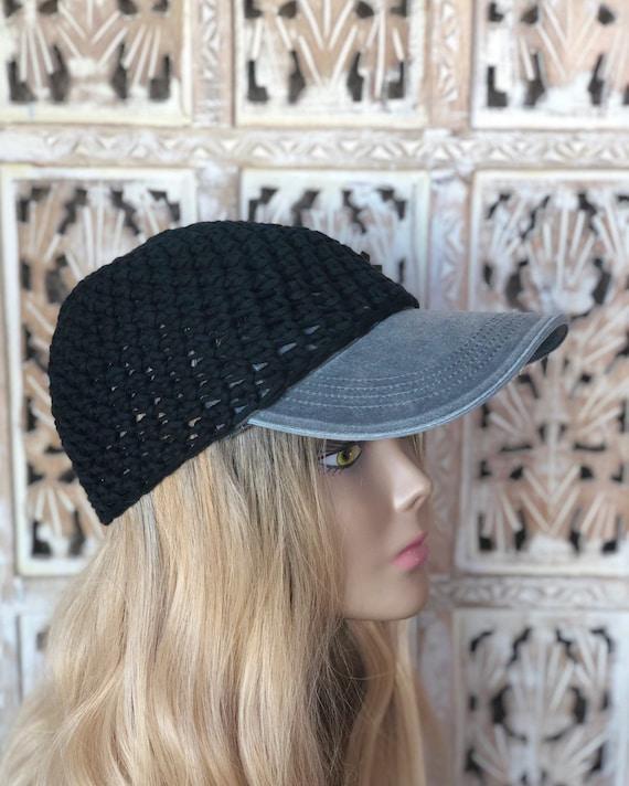 Womens hats baseball cap women baseball hat women crochet | Etsy