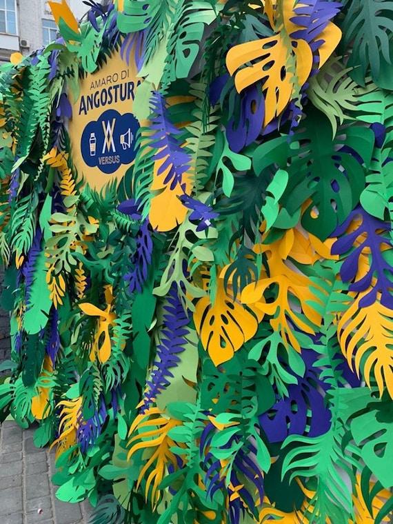 Tropical Party Decorations Hawaiian Party Decor Hawaiian Birthday Jungle Baby Shower Decorations Luau Party Decoration Papier Deco