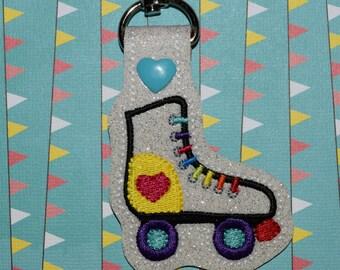 Roller Skate Keychain