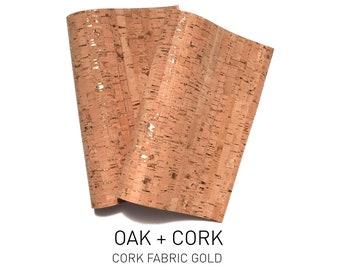 Kork natur Korkstoff Stoff aus Kork Naturkork Korktextil Kork 1 x 1 Meter D3