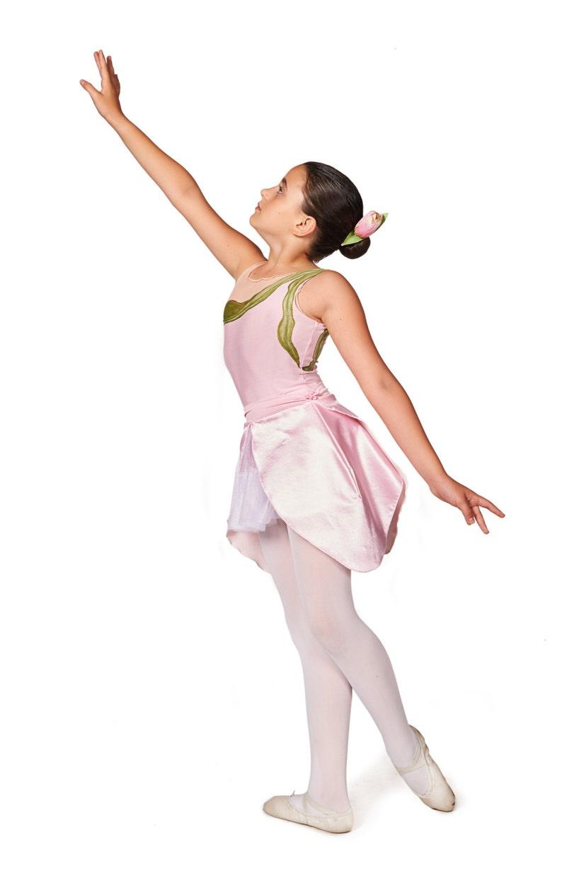 3f71edd89 Halloween Costume Toddler Ballet Leotard Flower Costume