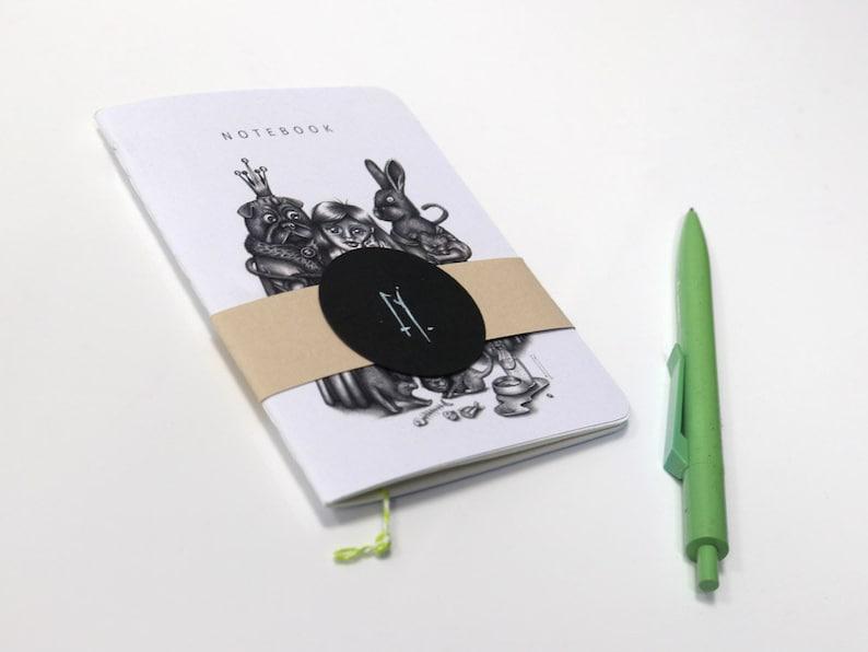 notes notes stationery journal notebook stationery sketchbook notebook Family Portrait notebook journal