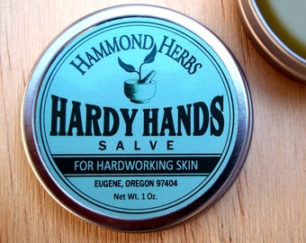 Hardy Hands Salve - For Hardworking Skin