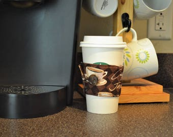 Coffee Cup Sleeve - Latte/Coffee