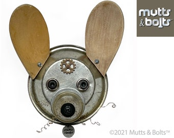 Metal Dog Sculpture/Chihuahua/Upcycled