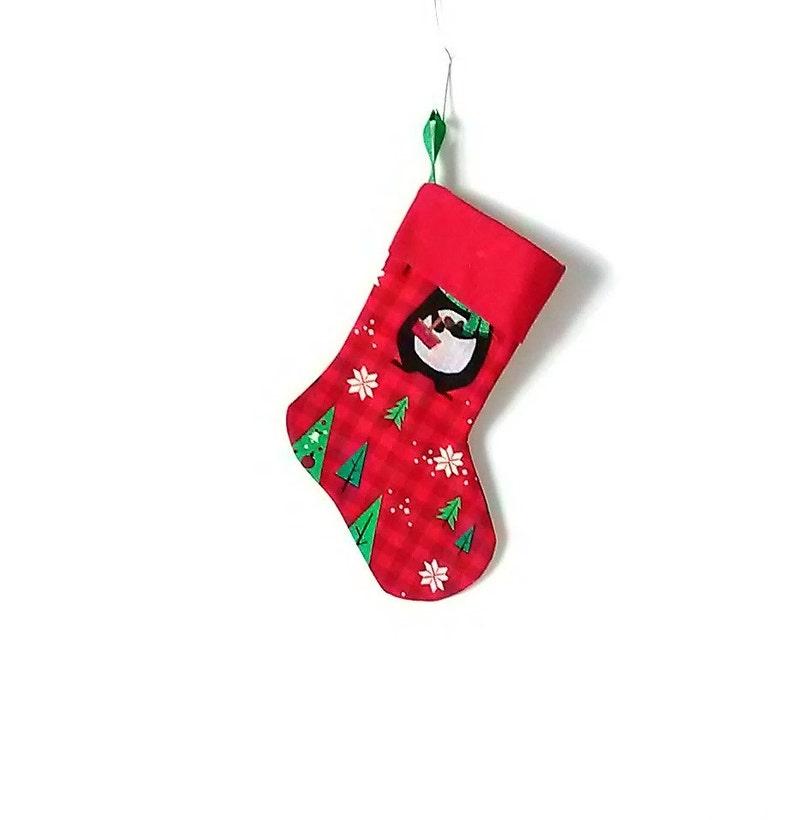 Christmas Stocking Lined Small