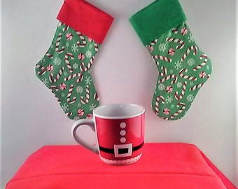 Christmas Stocking - Small, Lined