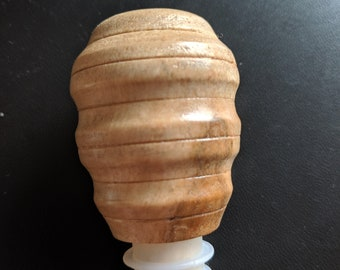 Wine Stopper - Bird's Eye Maple Wood