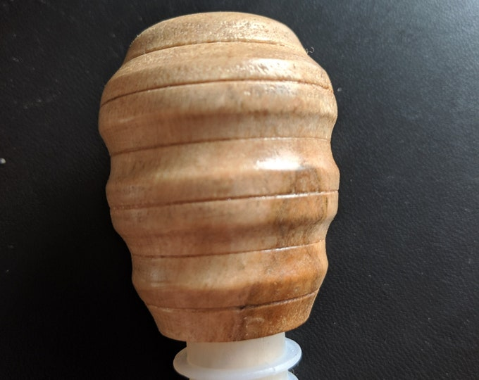 Bird's Eye Maple Wooden Wine Stopper