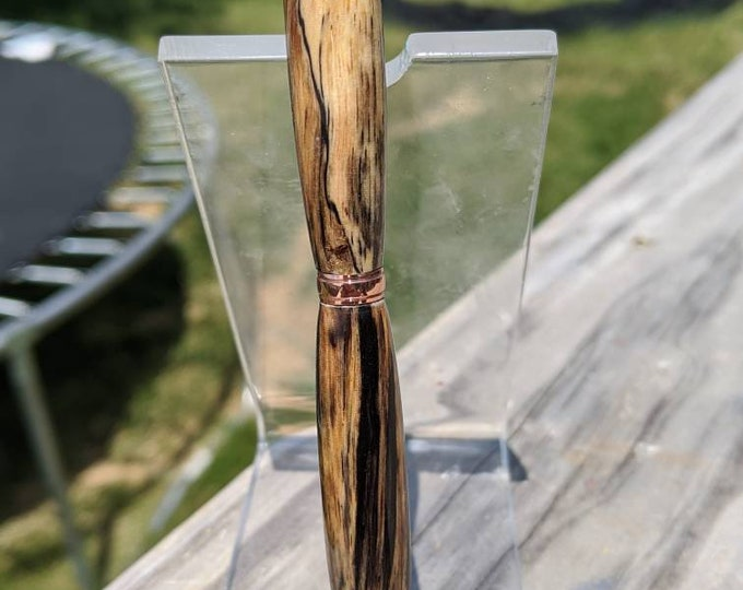 Spalted Tamarind Wood Pen - Handmade