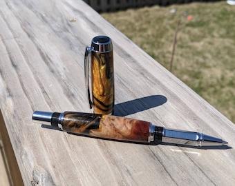 Rollerball Pen - Wood Burl Pen - Wood Pen