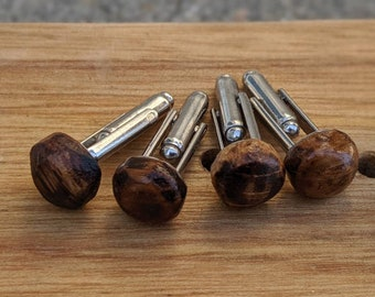 Wood Cufflinks - Jack Daniels Whiskey Barrel