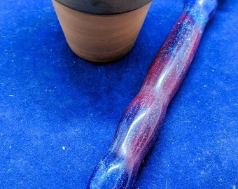 Diamond Painting Pen Handmade - Blue Red Sparkle