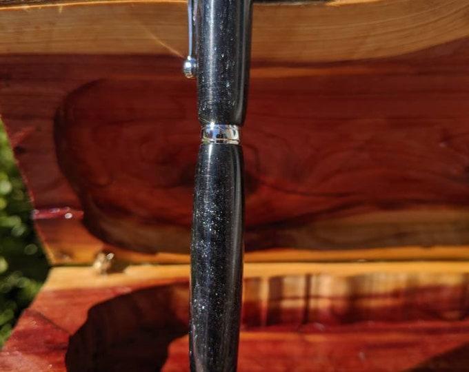 Handmade Pen - Black Diamond infused