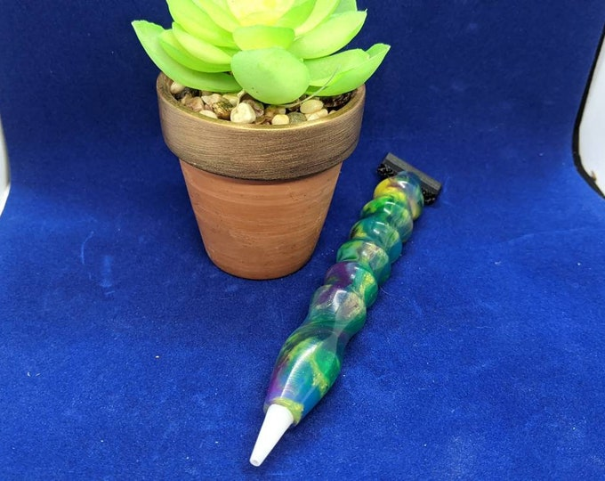 Diamond Painting Pen Handmade - peacock colors